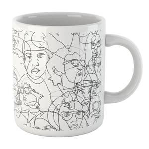 Faces Mug