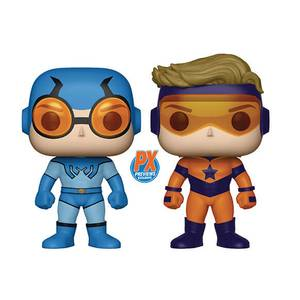 DC Comics - Blue Beetle & Booster Gold EXC 2-Pack Pop! Vinyl