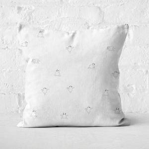 Yoga Panda Square Cushion