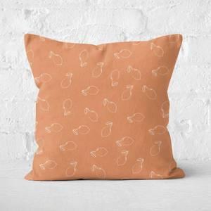 Lemon Square Cushion