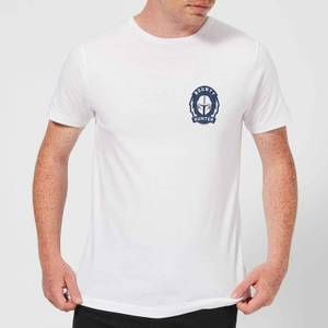 The Mandalorian Bounty Hunter Men's T-Shirt - White