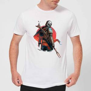 The Mandalorian Blaster Rifles Men's T-Shirt - White
