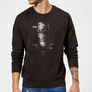 The Mandalorian IG-11 Poster Sweatshirt - Black