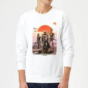 The Mandalorian Warriors Sweatshirt - White