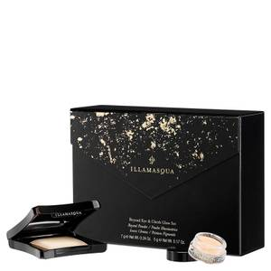 Illamasqua Beyond Eye and Cheek Glow Set - OMG