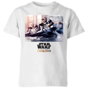 The Mandalorian Scout Trooper Kids' T-Shirt - White