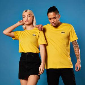 Star Trek Logo Embroidered T-shirt - Yellow
