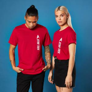 Star Trek - T-shirt Engineer - Rouge - Unisexe