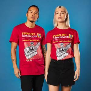 Star Trek Haynes - Communicator T-Shirt - Red