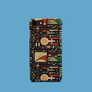 Retro Light Star Trek Phone Case for iPhone and Android