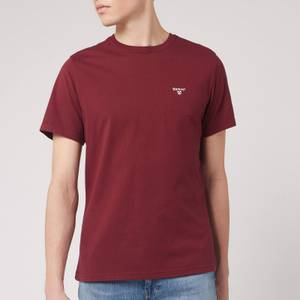 Barbour Men's Sports T-Shirt - Ruby