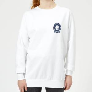 The Mandalorian Bounty Hunter Women's Sweatshirt - White