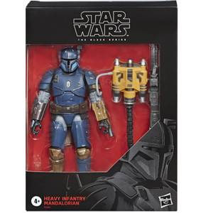 Figura Mandaloriano de Infantería Pesada - Star Wars The Black Series The Mandalorian