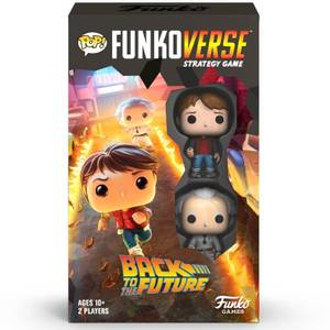 Funkoverse Back to the Future Strategy Game (2 Pack)