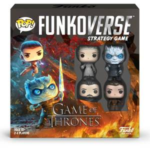 Funkoverse Game of Thrones Strategy Game (4 Pack)