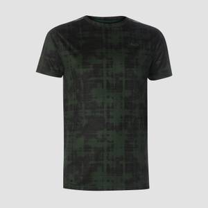 MP Men's Training Grid T-Shirt - Hunter Green