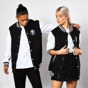 Veste Varsity Marvel The Punisher - Noir & Blanc