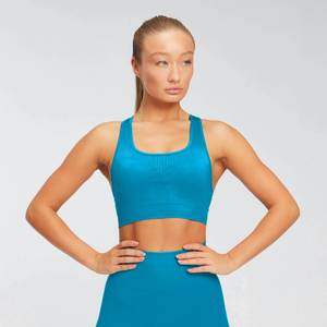 Myprotein Shape Seamless Ultra Women's Bra - Sea Blue
