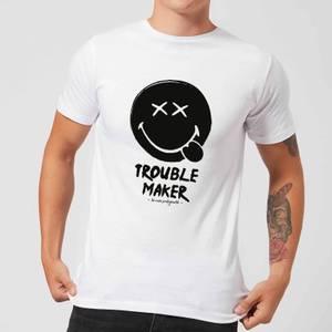 Trouble Maker Men's T-Shirt - White