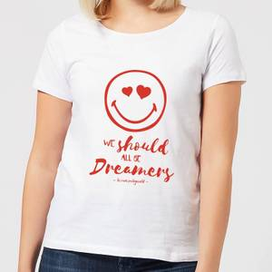 We Should All Be Dreamers Women's T-Shirt - White