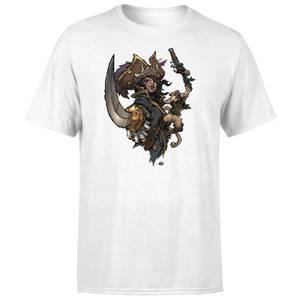 Sea of Thieves Dastardly Duo T-Shirt - White