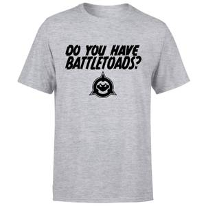 Battle Toads Do You Have Them?! T-Shirt - Grey