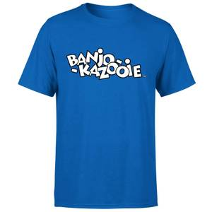 Banjo Kazooie Two Tone Logo T-Shirt - Royal Blue