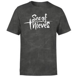 Sea of Thieves Logo T-Shirt - Black Acid Wash