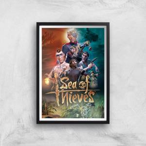 Sea of Thieves A3 Giclee