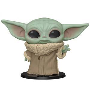 Star Wars: The Mandalorian - Baby Yoda 10'' Figura Funko Pop! Vinyl