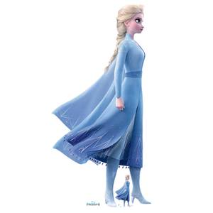 Disney Frozen 2 Elsa Lifesized Carboard Cut Out