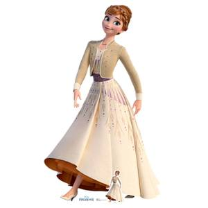 Disney Frozen 2 Anna Lifesized Carboard Cut Out