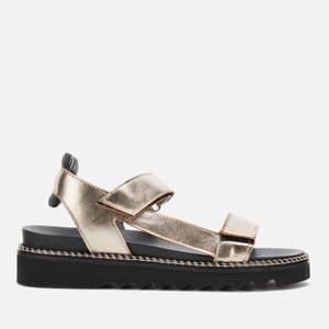 Whistles Women's Sport Velcro Sandals - Pewter