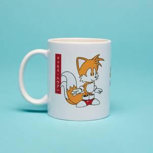 Tails Japanese Mug- White