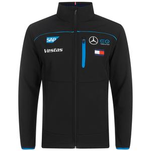 2020 Unisex Black Team Softshell Jacket