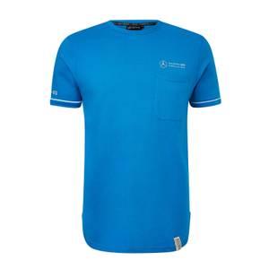 Men's Blue Lifestyle Pocket T-Shirt