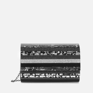 Kurt Geiger London Women's Party Envelope Clutch - Black/Multi