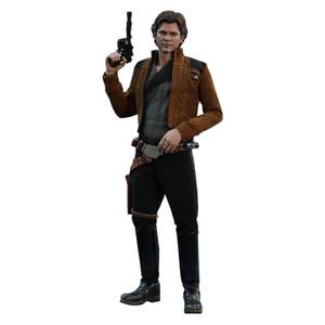 Figurine Articulée Han Solo (à l'échelle 1/6) Star Wars Solo Movie Masterpiece 31cm - Hot Toys