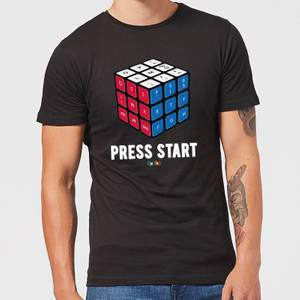 Press Start Men's T-Shirt - Black