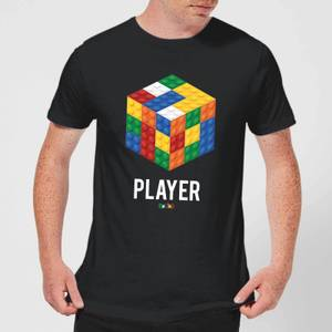 Block Rubik's Cube Player Men's T-Shirt - Black