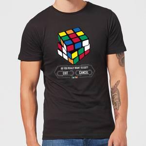 Do You Want To Exit? Men's T-Shirt - Black