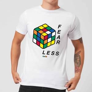 Fear Less Rubik's Cube Men's T-Shirt - White