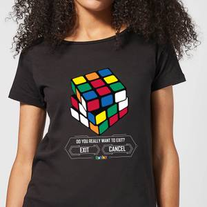 Do You Want To Exit? Women's T-Shirt - Black