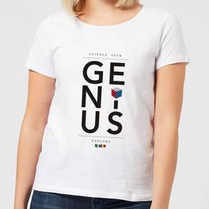 Genius Rubik's White Women's T-Shirt - White