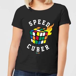 Speed Cuber Women's T-Shirt - Black