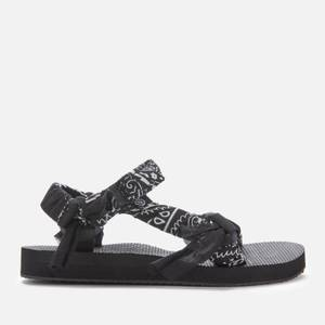 Arizona Love Women's Trekky Bandana Sandals - Black