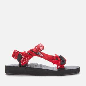 Arizona Love Women's Trekky Bandana Sandals - Red