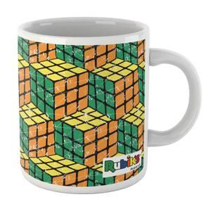 Rubik Scientific Equations Yellow Green Orange Cube Mug Mug