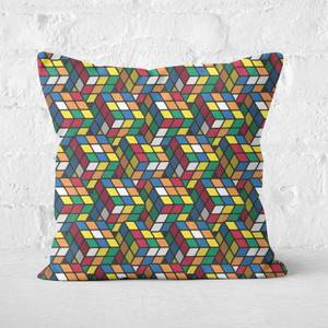 Repeat Rubik's Cube Pattern Cushion Square Cushion
