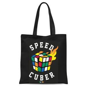 Speed Cuber Tote Bag - Black